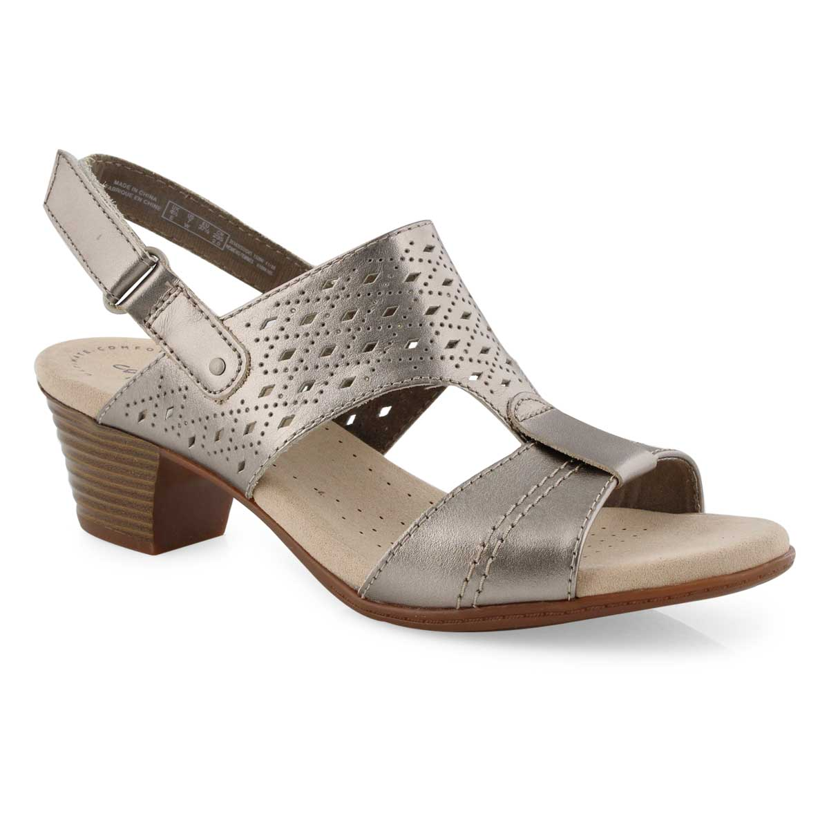 Lds Valarie Mindi pwtr dress sandal-wide