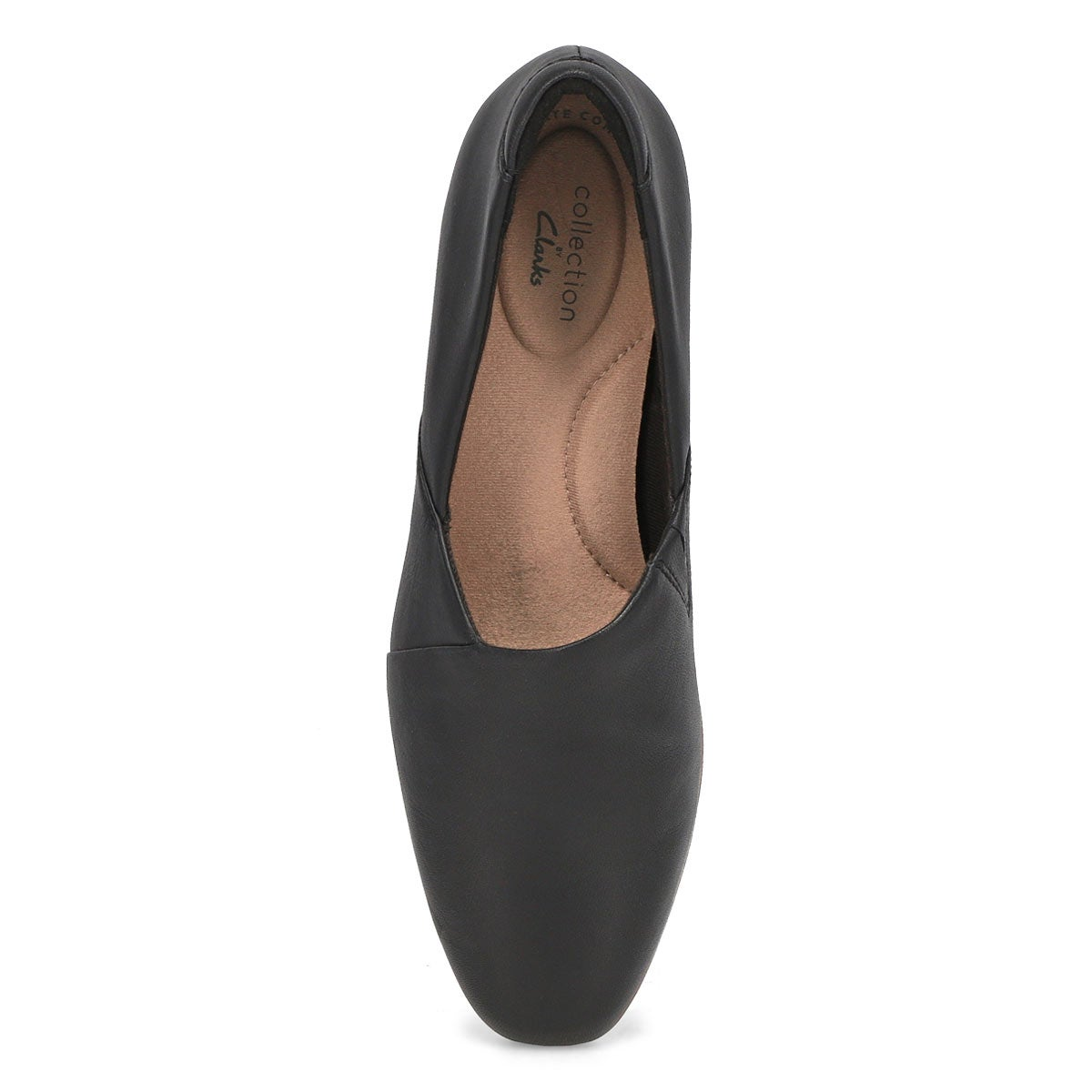 Lds Juliet Palm blk slip on dress heel