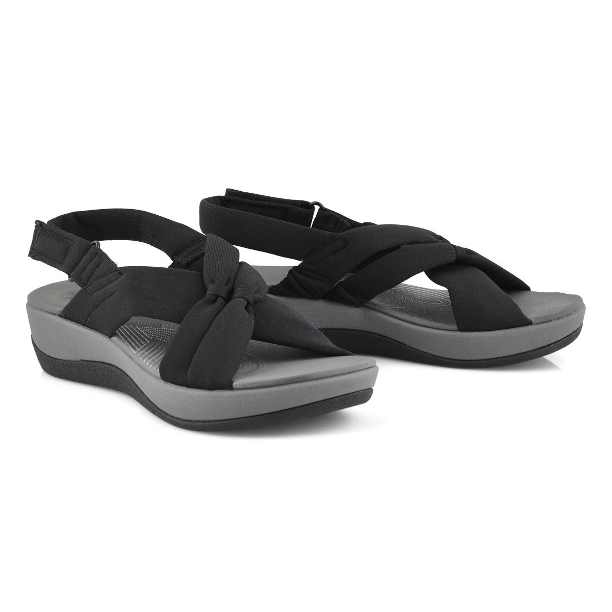 Lds Arla Belle black casual sandal
