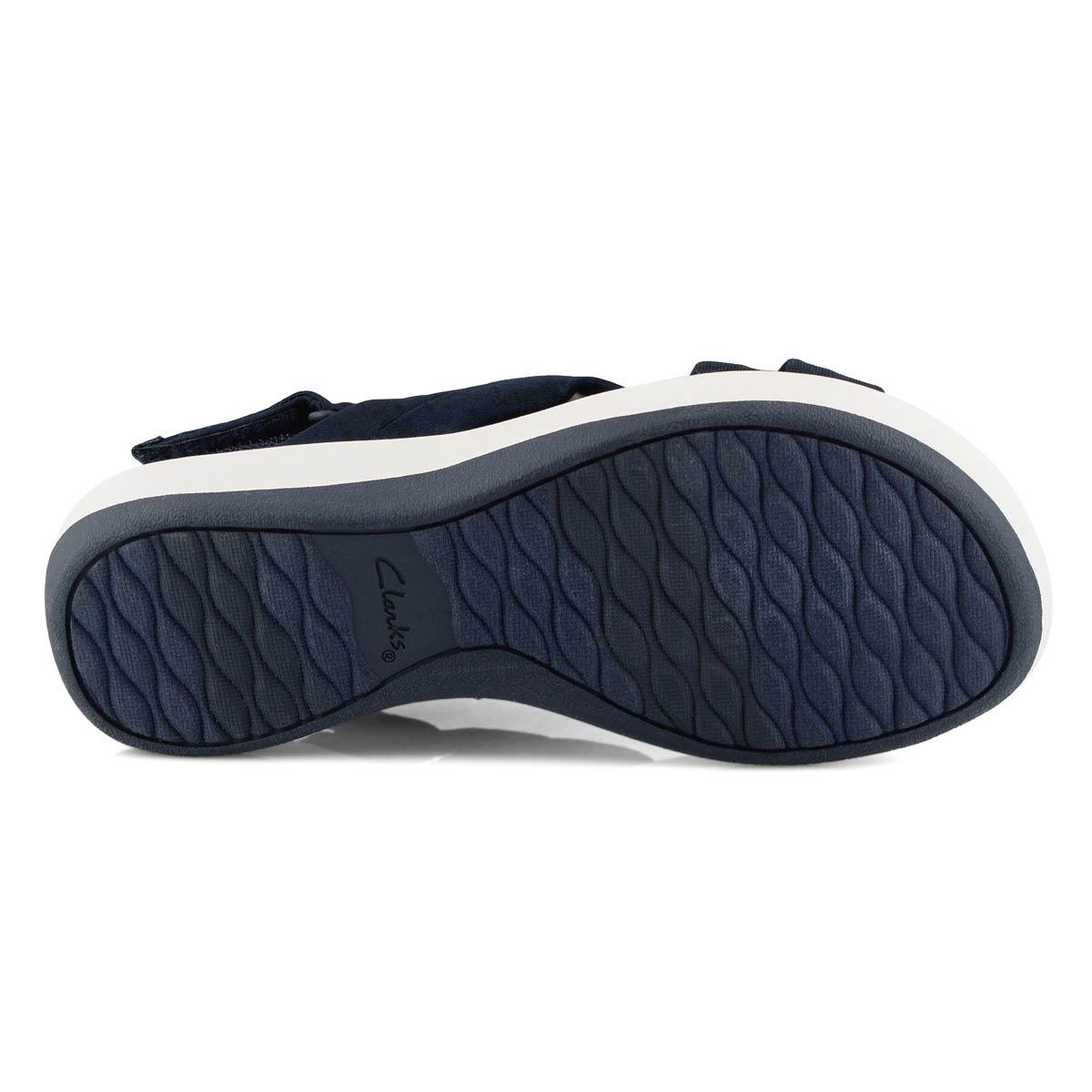 Lds Arla Belle navy casual sandal