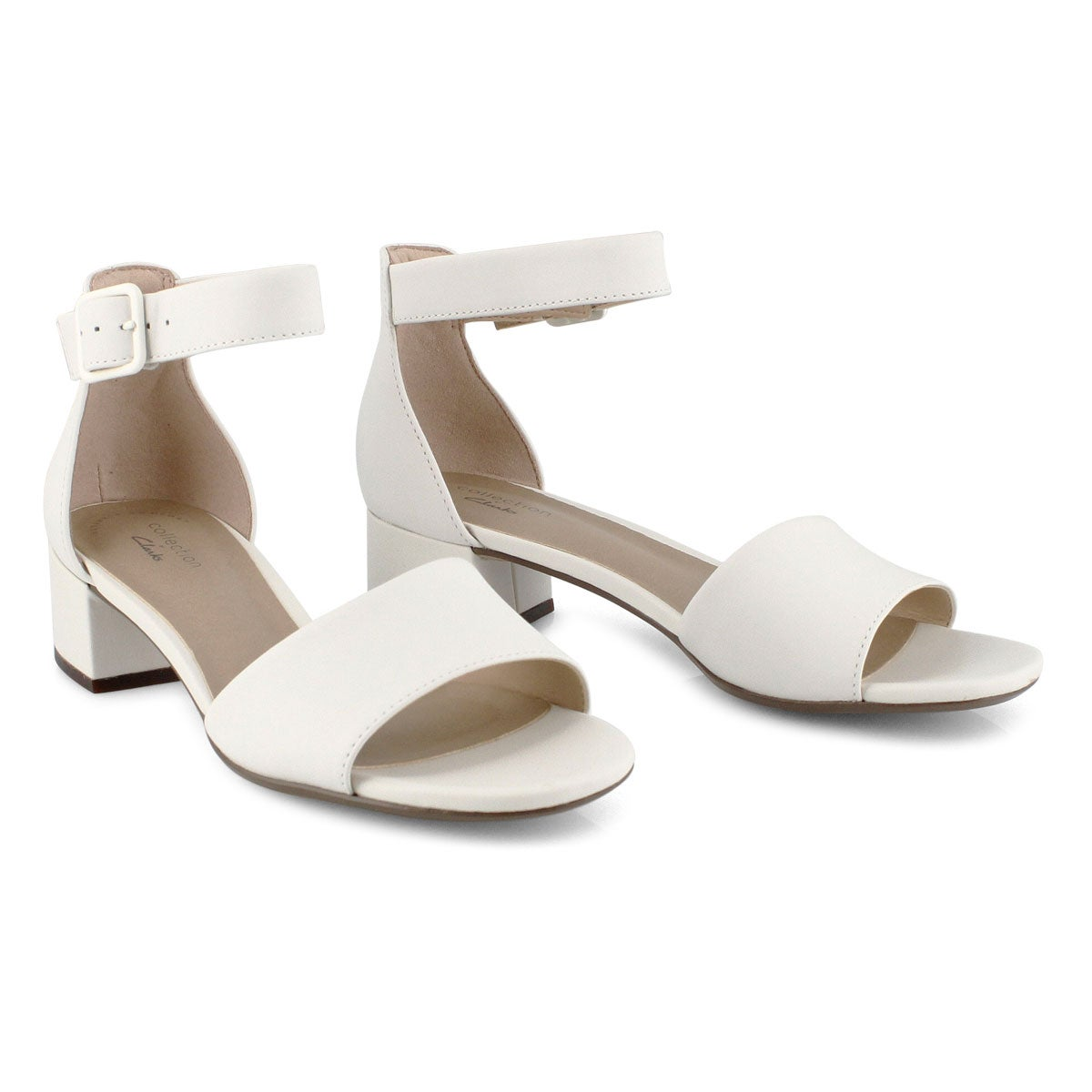 Lds Elisa Dedra white dress sandal