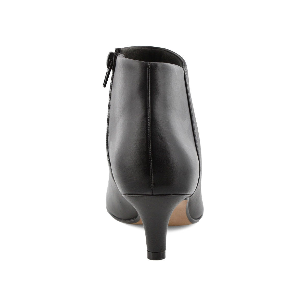 Lds Linvale Sea blk lthr dress bootie