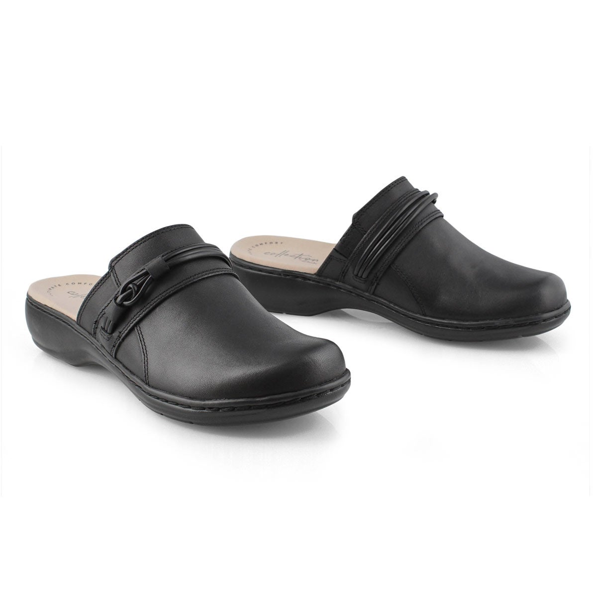 Lds Leisa Clover black casual clog