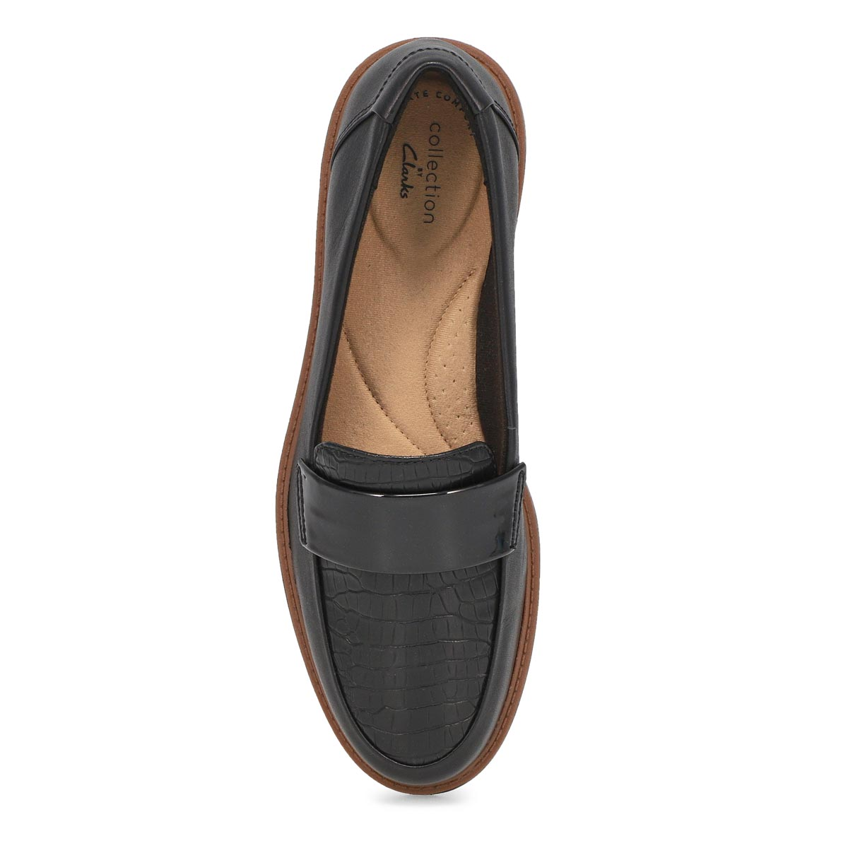 Lds Raisie Arlie blk casual loafer