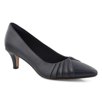 Lds Linvale Crown navy dress heel