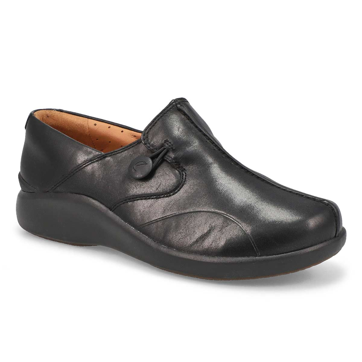 Lds Un Loop 2 Walk blk casual shoe-WIDE