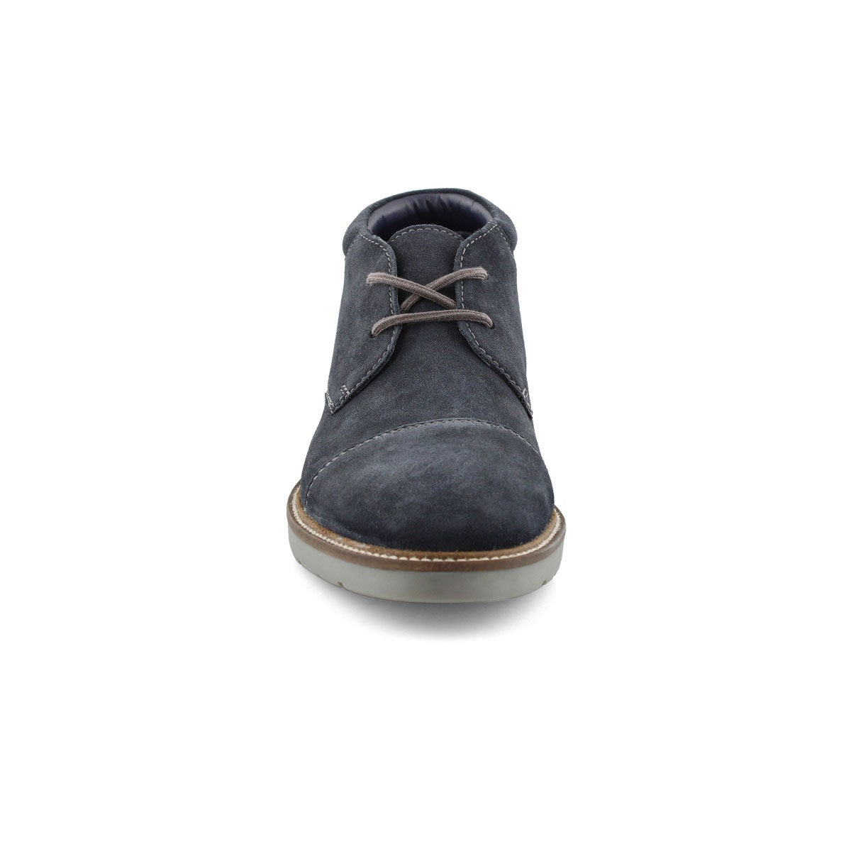Mns Grandin Top navy lace up chukka boot
