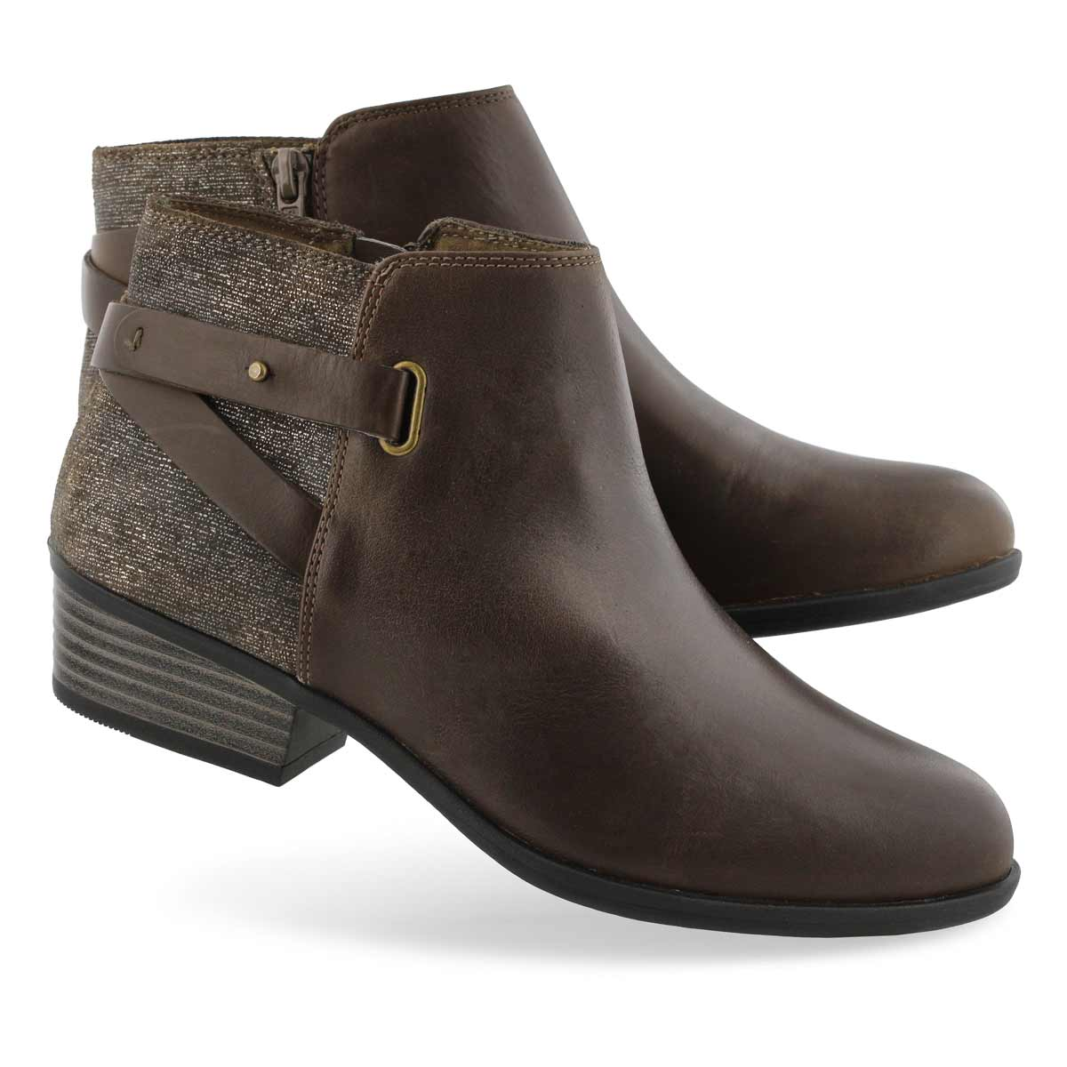 Lds Addiy Gladys olive casual bootie