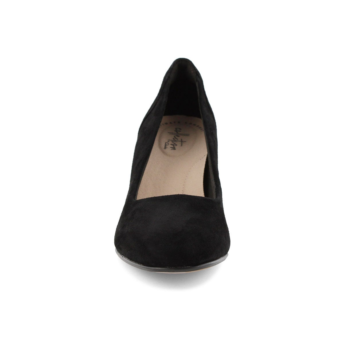 Lds Chantelle Ava black dress heel