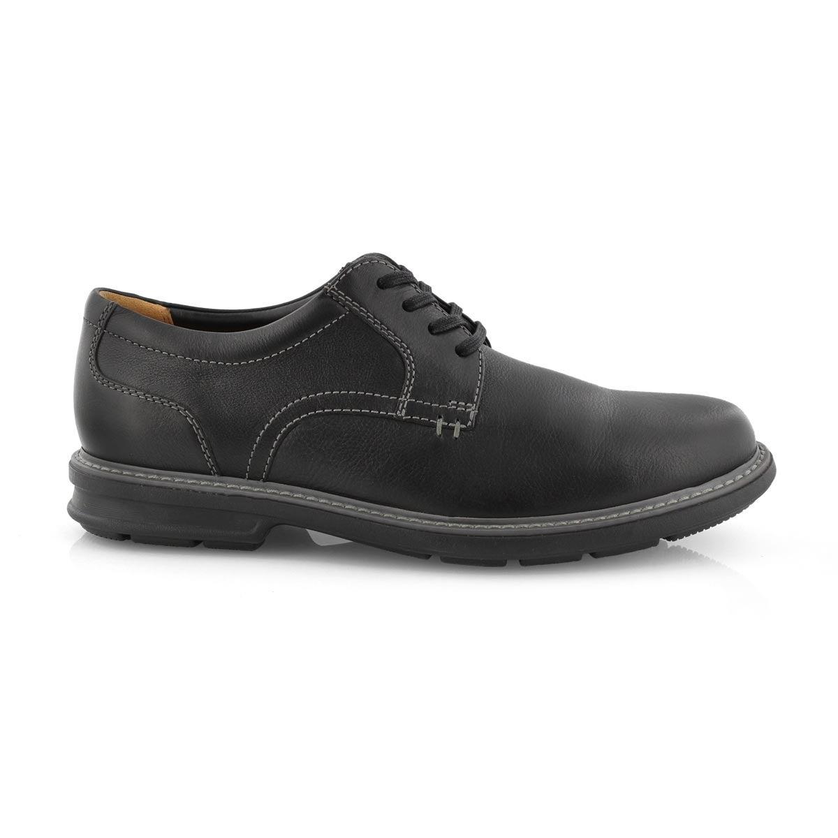 Mns Rendell Plain black casual oxford