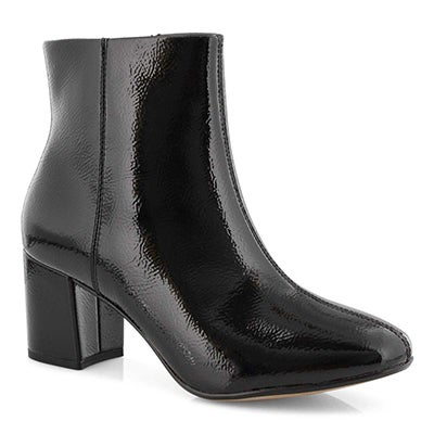 Lds Chantelle Stone blk dress bootie