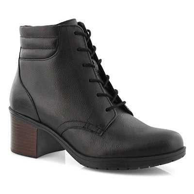 Lds Hollis Jasmine black ankle boot