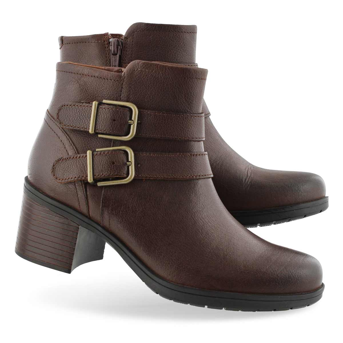 Lds Hollis Pearl mahogany ankle boot