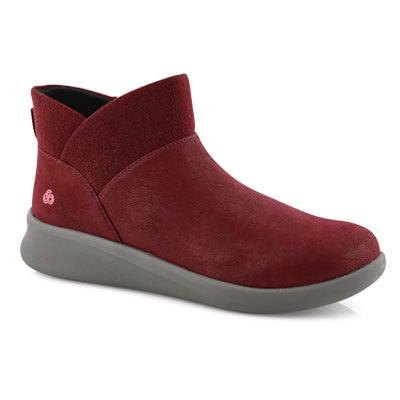 Lds Sillian 2.0 Dusk maroon slip on boot