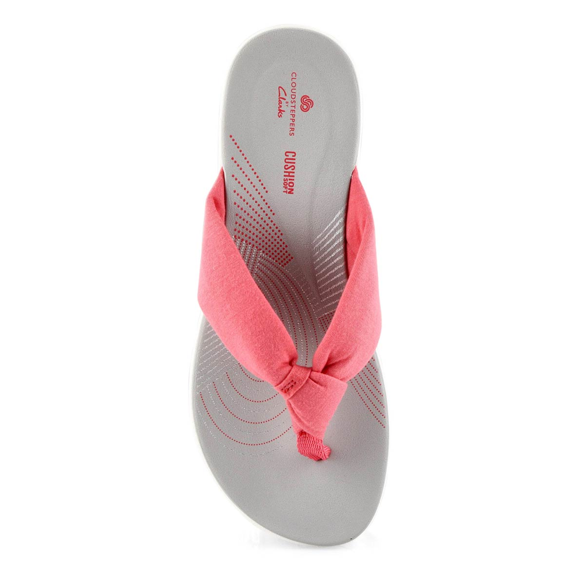 Lds Arla Glison berry thong wedge sandal
