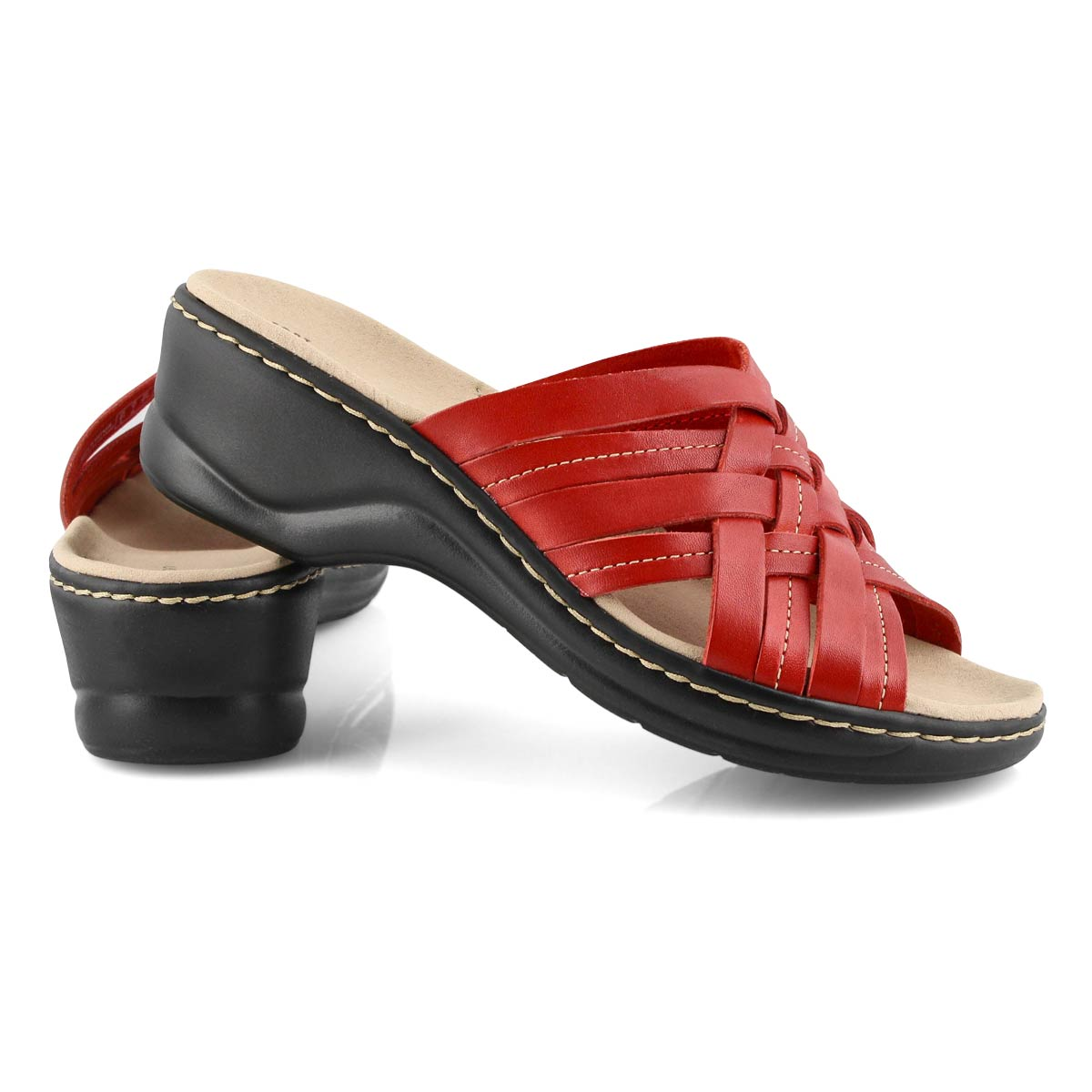 Lds Lexi Salina red slides -wide