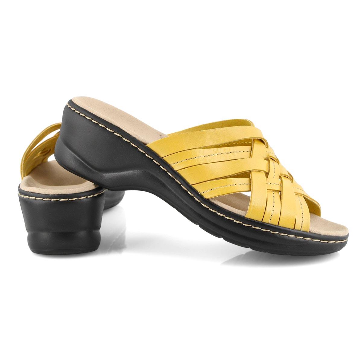 Lds Lexi Salina yellow slides -wide