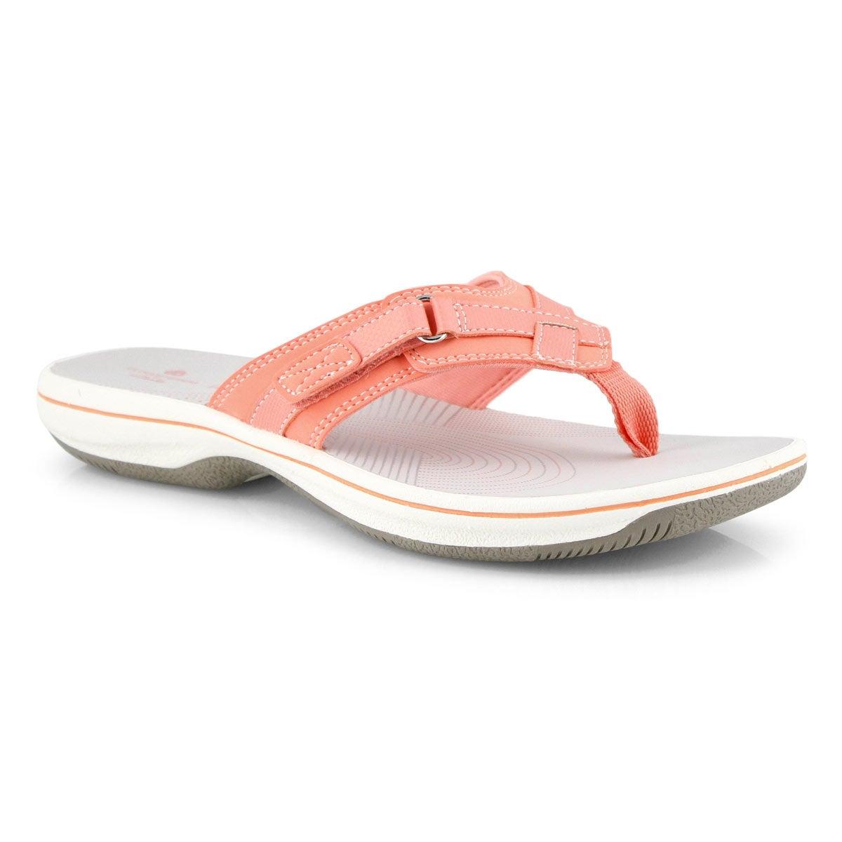 Lds Breeze Sea coral thong sandal