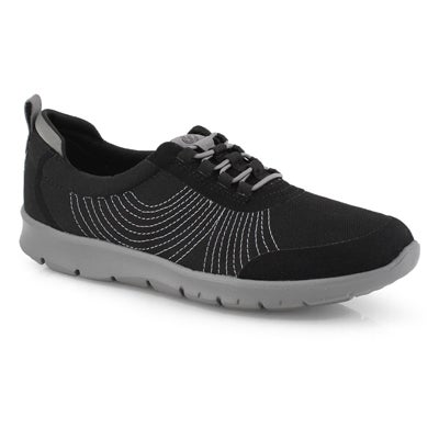 Lds Step Allena Bay blk/blk casual shoe