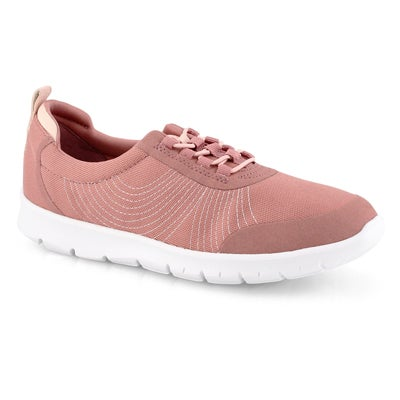 Lds Step Allena Bay mauve casual shoe