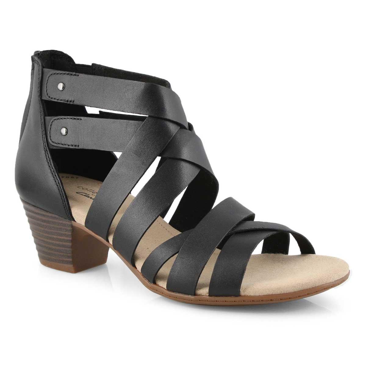 Lds Valarie Dream black dress sandals