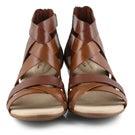 Lds Valarie Dream dark tan dress sandals
