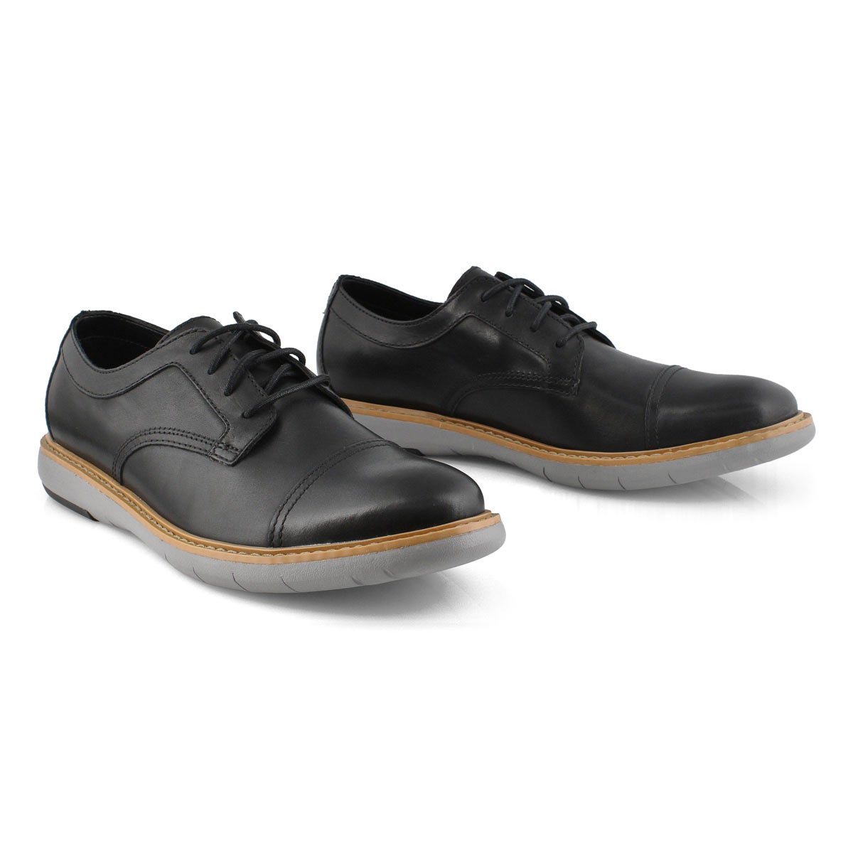 Mns Draper Cap black casual oxford