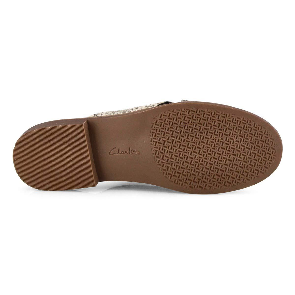 Lds Declan Ivy taupe snake slide sandals
