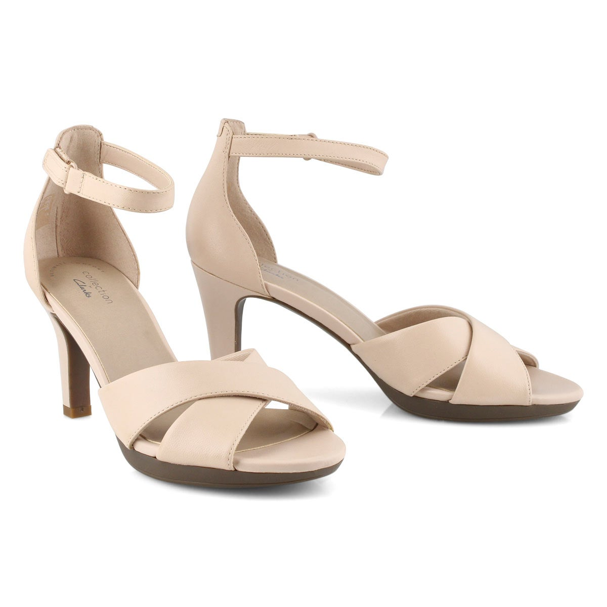 Lds Adriel Cove blush dress heels