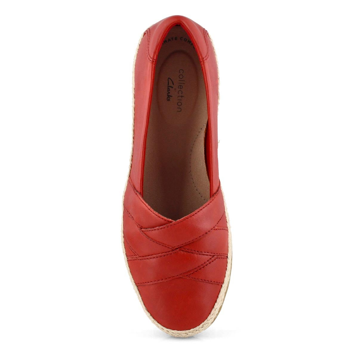 Lds Danelly Shine red slip on -wide