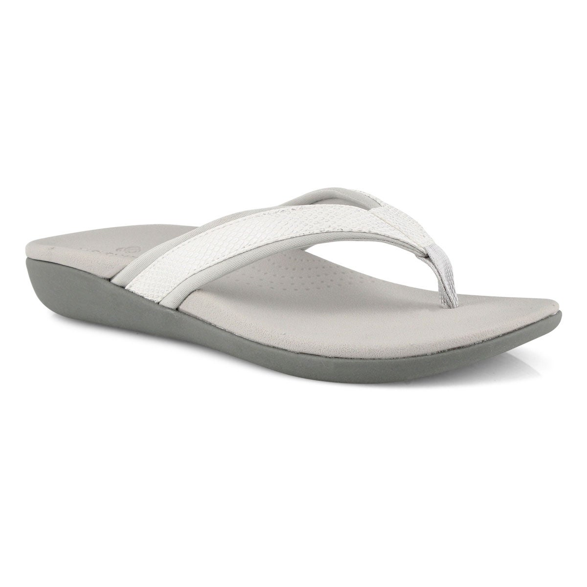 Lds Brio Sol white snake casual sandal