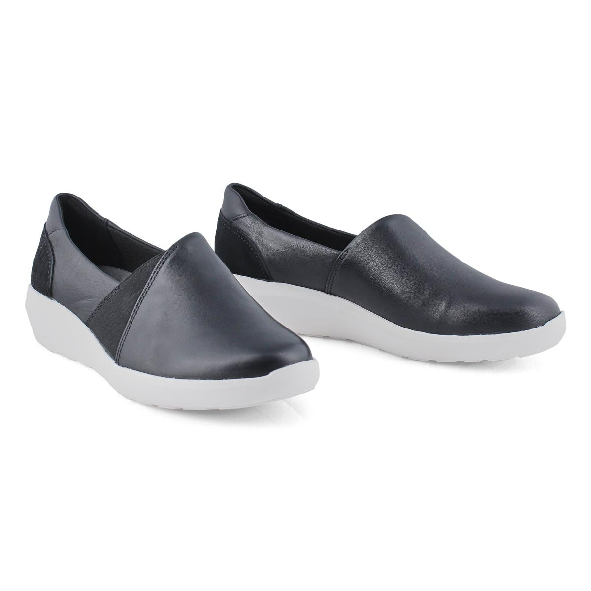 Lds Kayleigh Step black slip on shoe