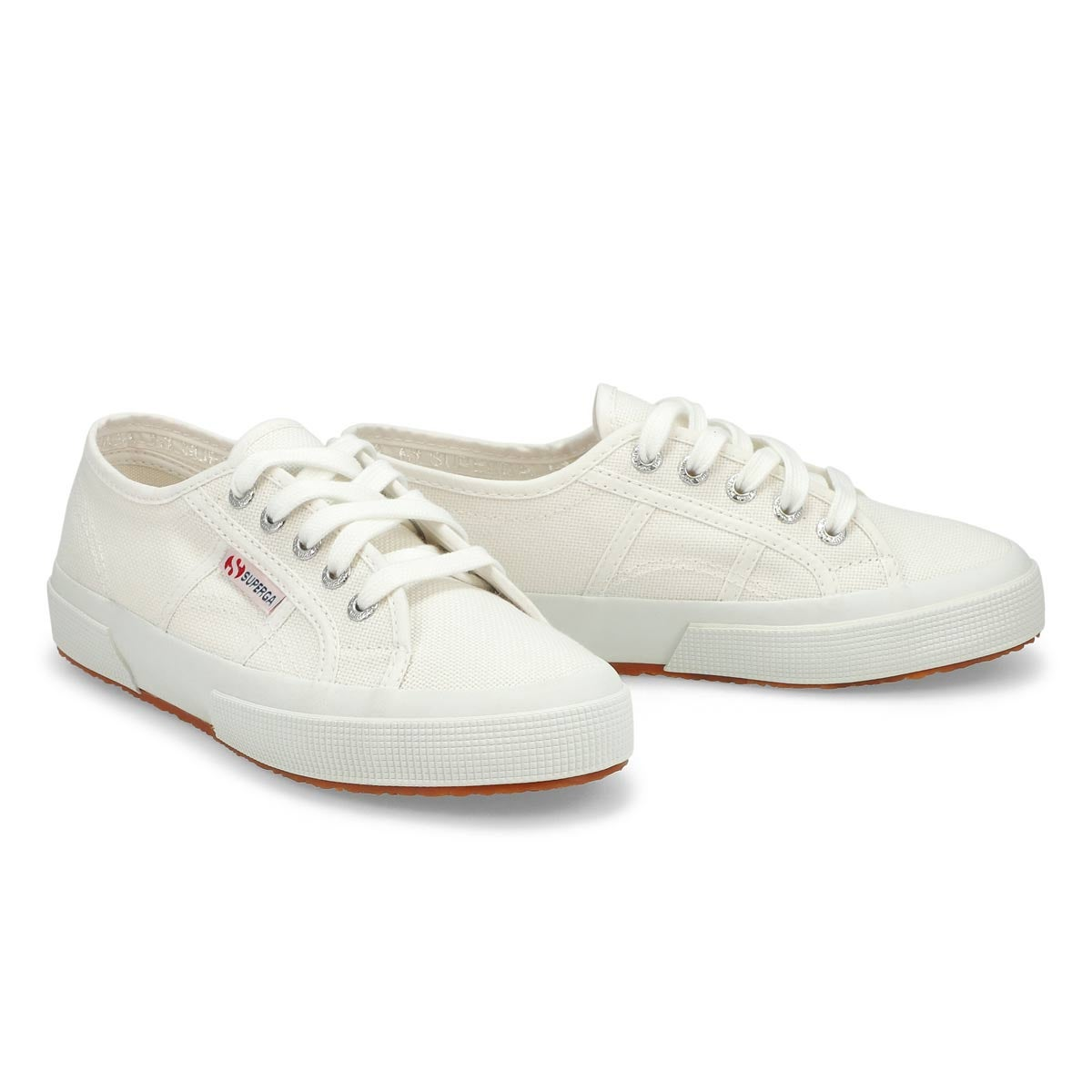 Lds Cotu Classic white canvas sneaker