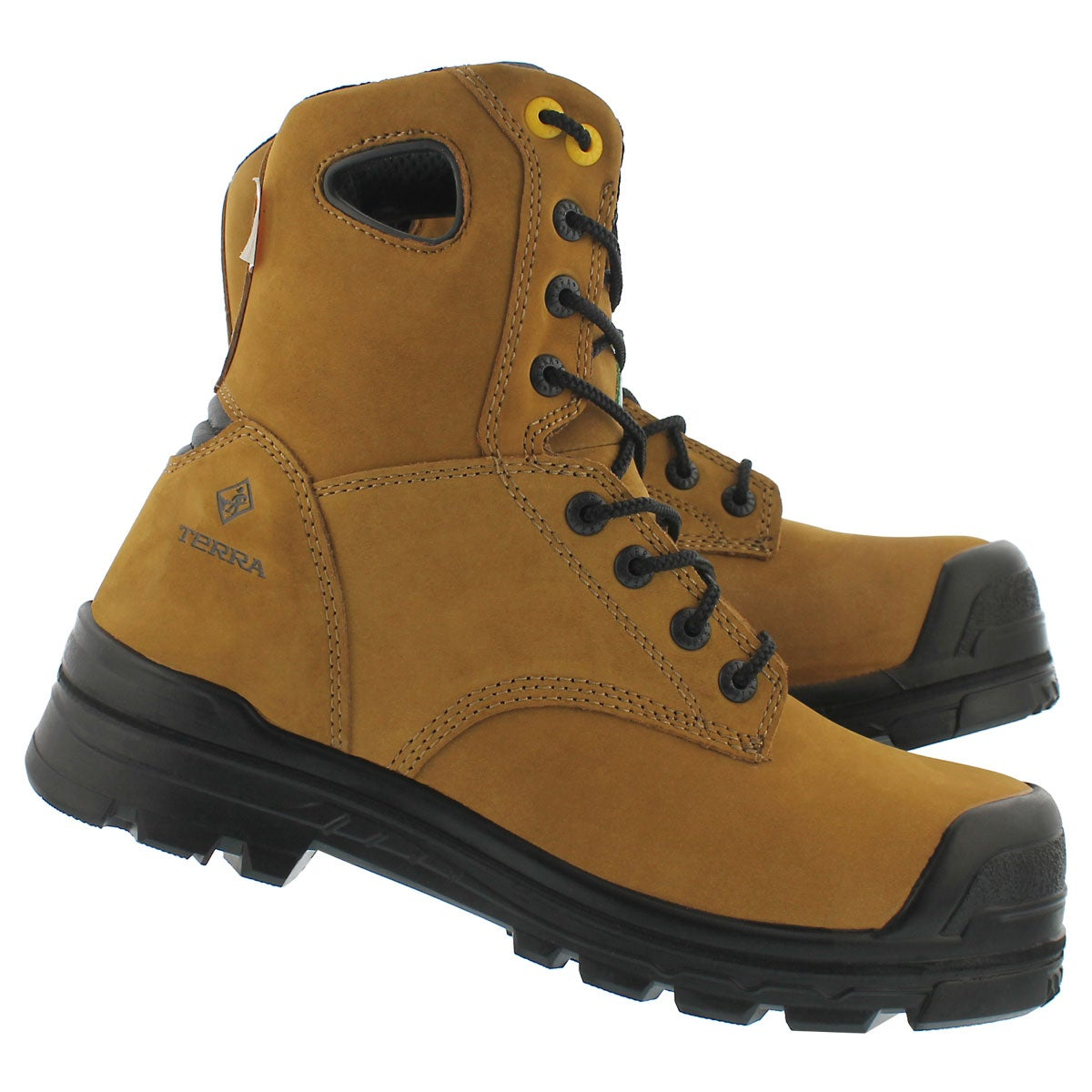 Mns Argo tan lace up wtpf CSA boot