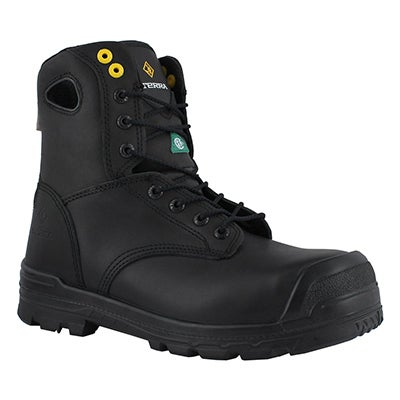 Mns Argo black lace up wtpf CSA boot