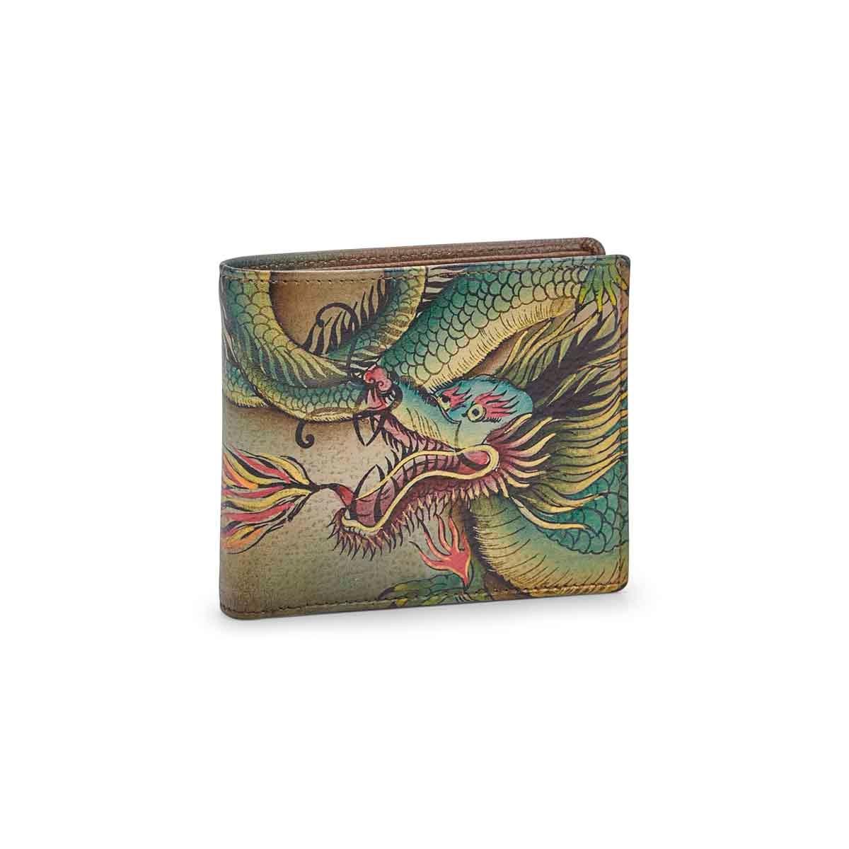 Men's HIDDEN DRAGON two fold wallet