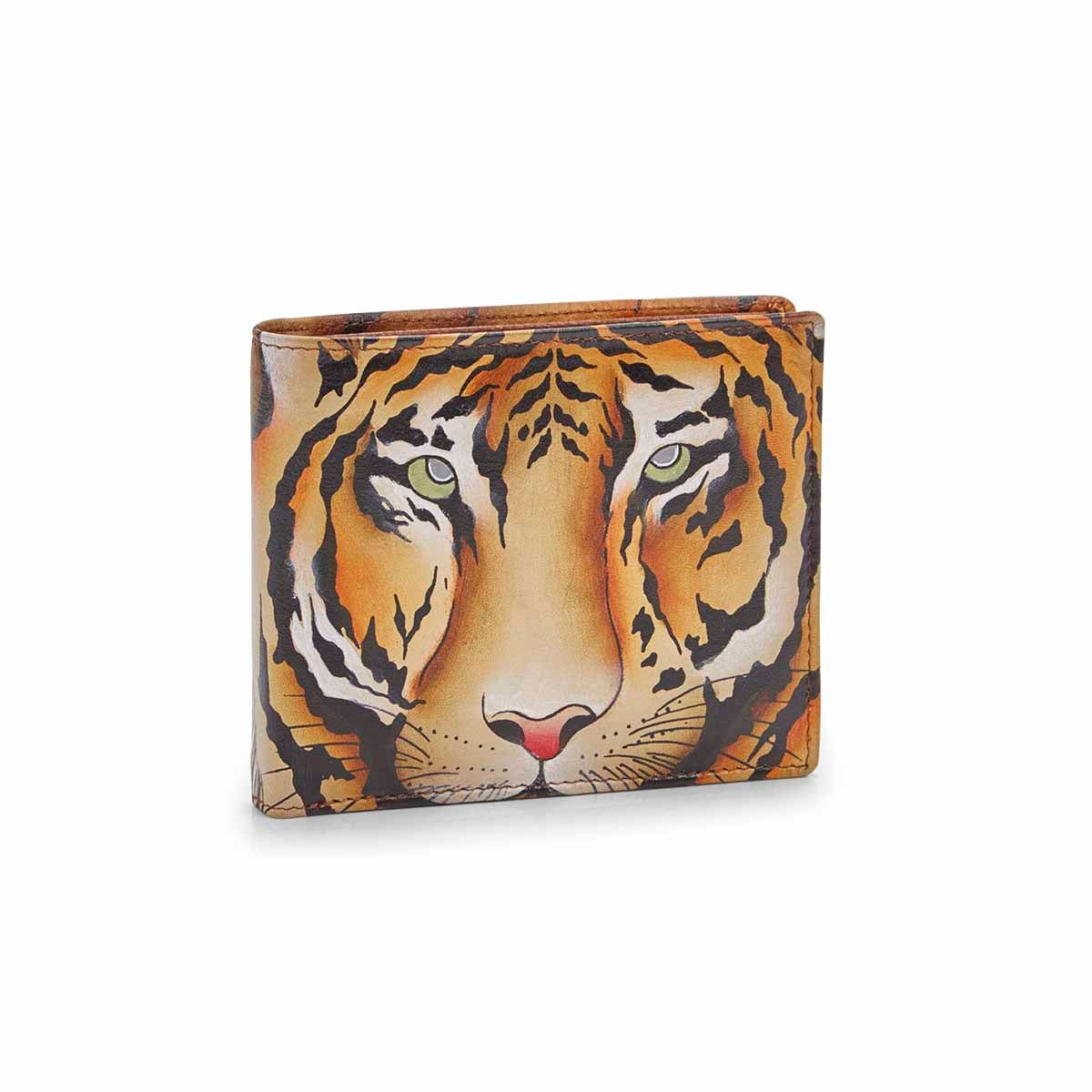 Men's WILD TIGER two fold wallet