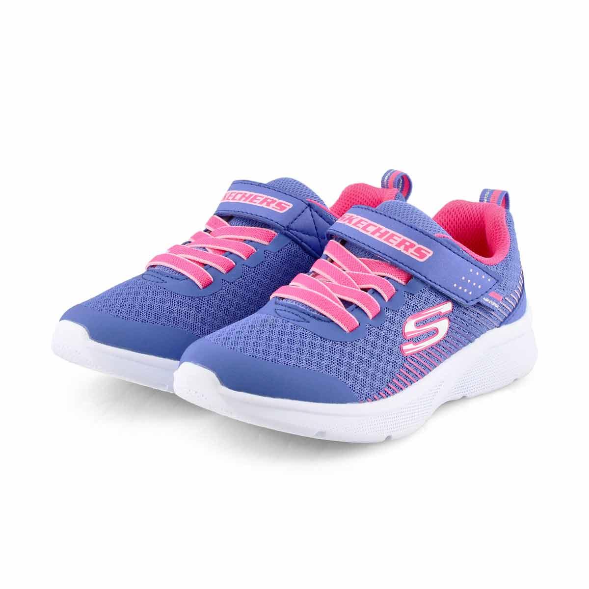 Grls Microspec blu/pnk sneaker