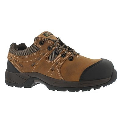 Mns Trail brn laceup wpf CSA safety shoe