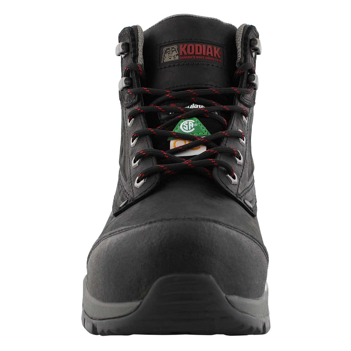 Mns Crusade black lace up wtpf CSA boot