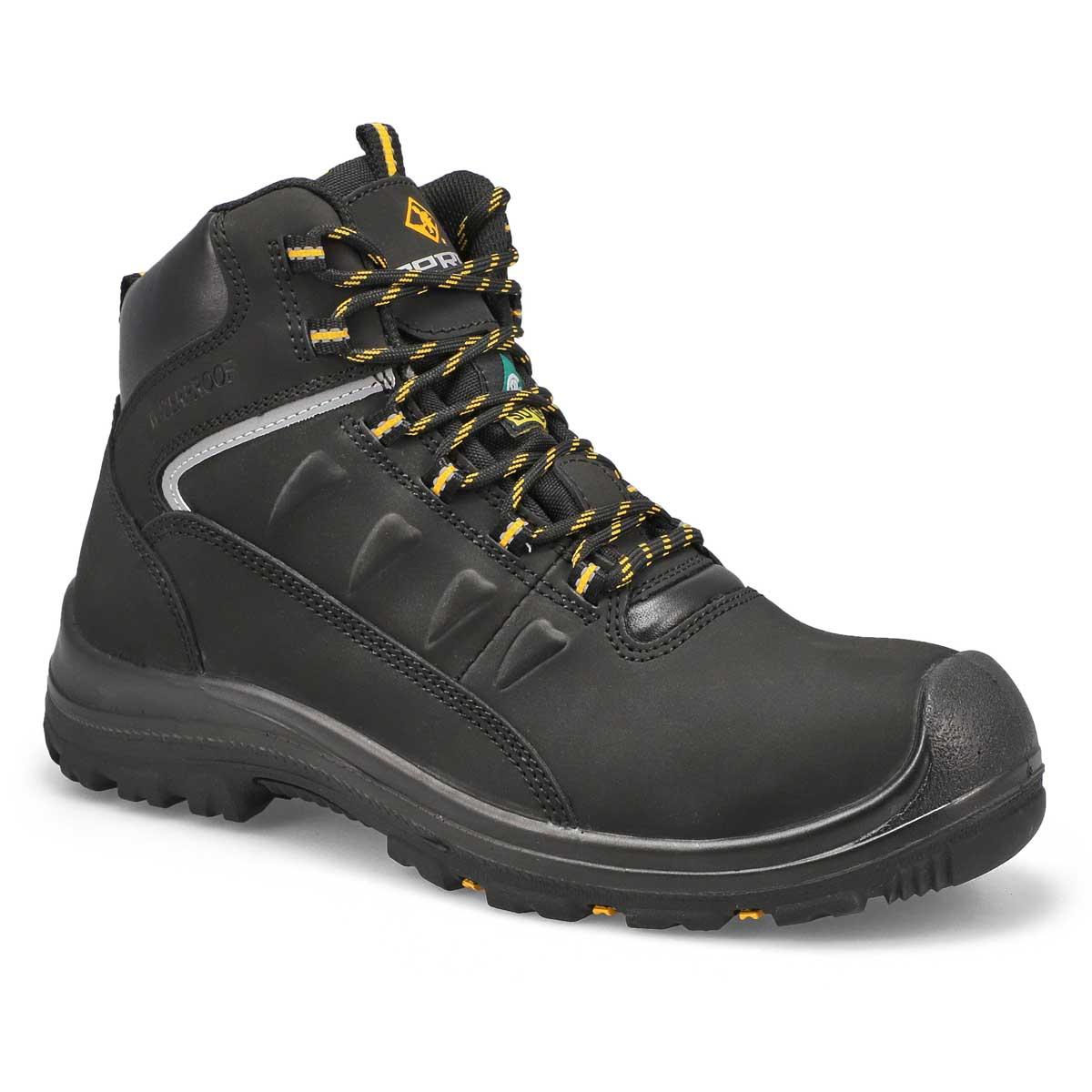 Mns Findlay black lace up CSA boot