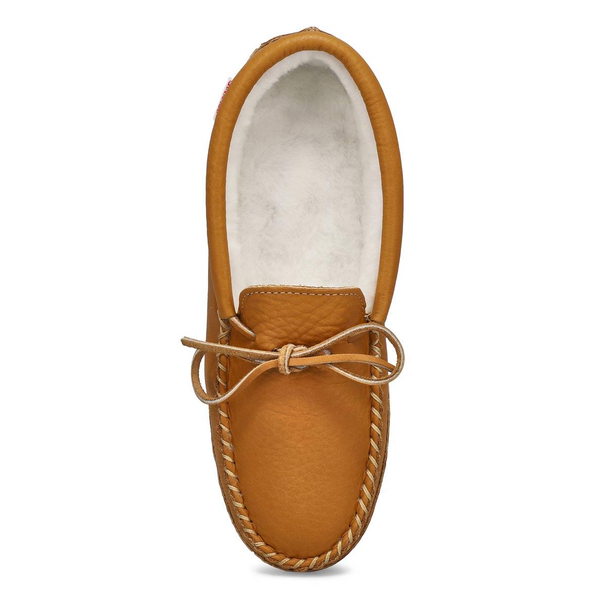 Mns cork moosehide lined soft sole moc