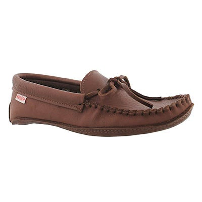 SoftMoc Men's 3107 M double sole unlined moose moccasins