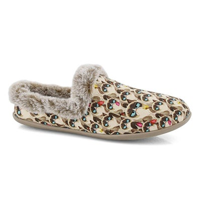 Lds Bobs Beach Bonfire tpe/multi slipper