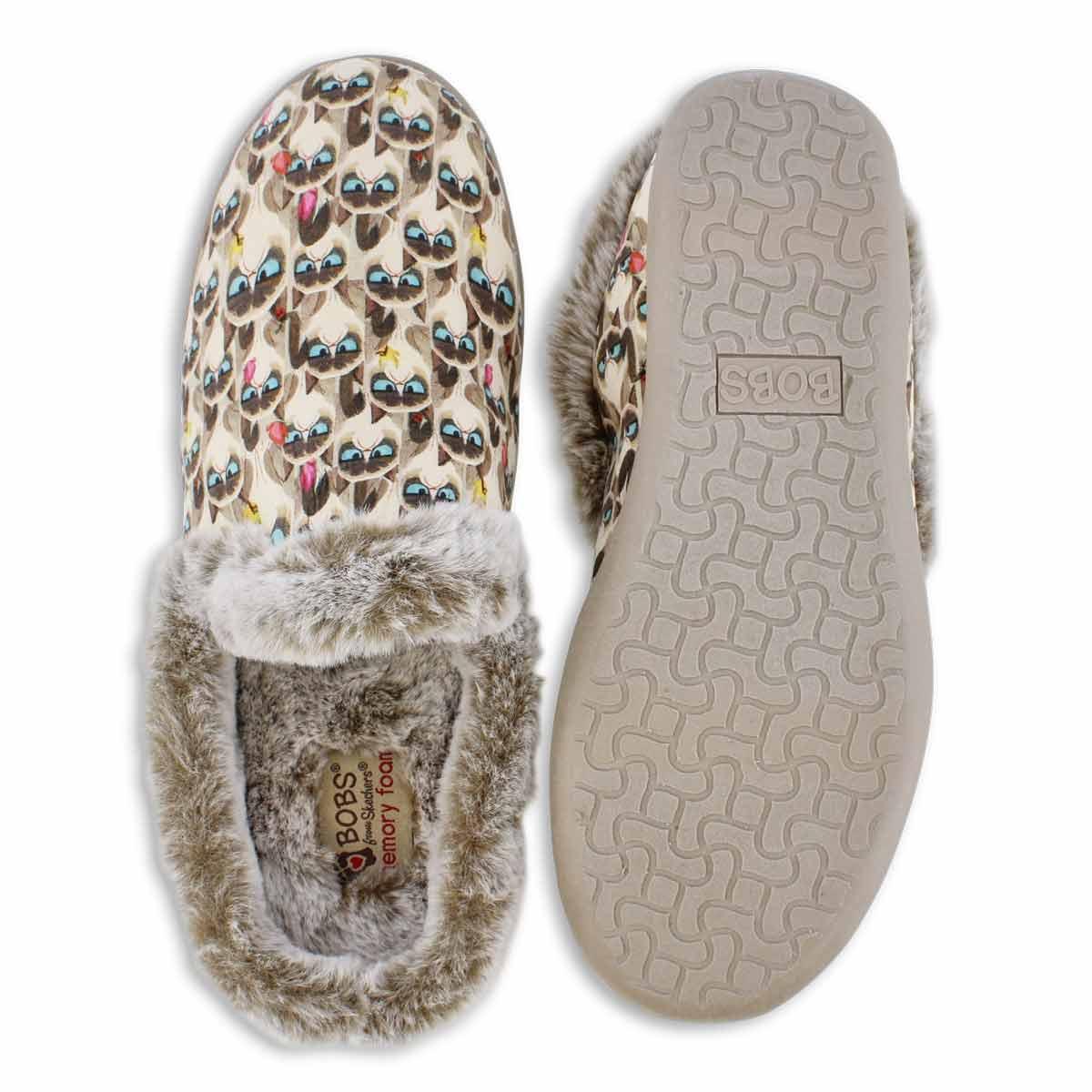 Lds Bobs Beach Bonfire tpe/multi slipper