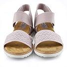 Sandale Desert Kiss lavande, femmes