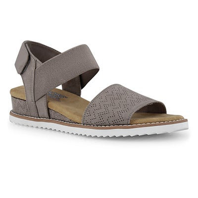 Lds Desert Kiss taupe casual sndl