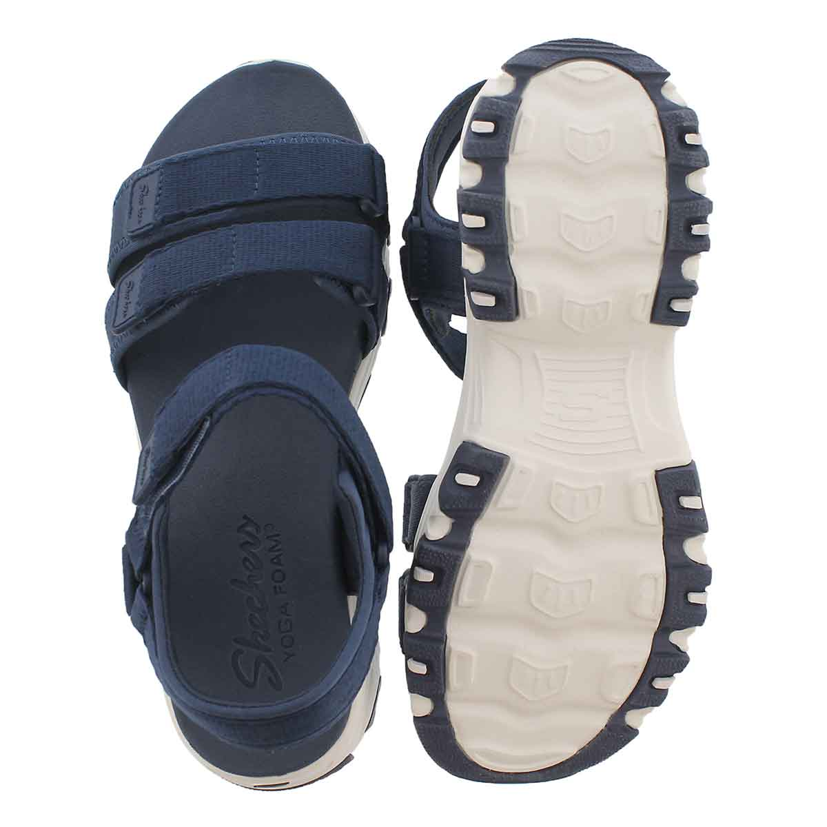 Lds D'Lites Fresh Catch nvy sport sandal