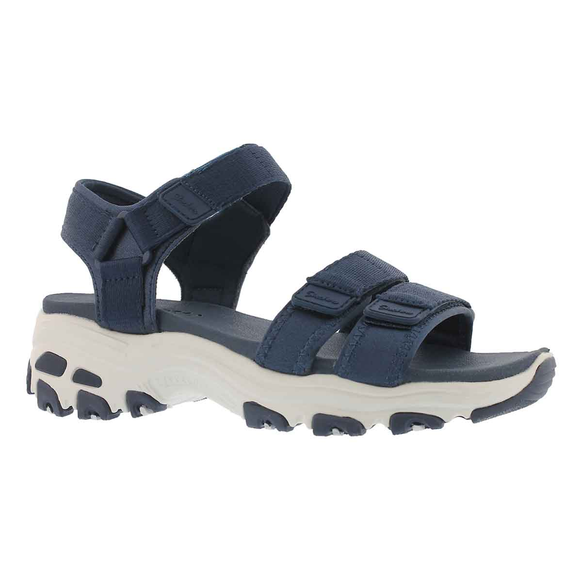 Women's D'LITES FRESH CATCH navy sport sandals
