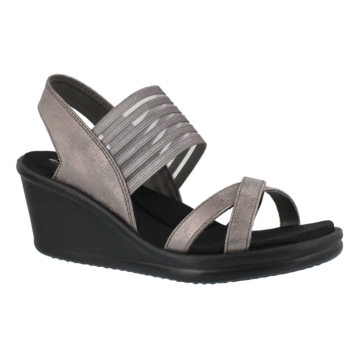 Women's RUMBLERS GLAM SOCIETY pwtr wdg sandals